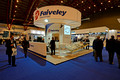 DG146856. Faiveley stand. Railtex. London. 30.4.13.
