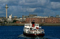 T14282. Royal Iris, Mersey ferry. Liverpool. England. 03.10.02