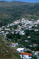 T14267. View of the village. Stenies. Andros. Cyclades. Greece. 25.9.02