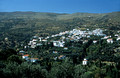 T14255. The village is a retreat of wealthy old sea Captains. Stenies. Andros. Cyclades. Greece. 25.9.02