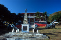 T14129. Remedios Town Hall and cannons. Fernando de Noronha. Brazil. 20.8.02