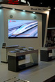 DG242567. Models on the CRRC stand. Infrarail 2016. 12.4.16