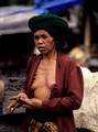 Balinese woman at Market. Ubud. Bali. Indonesia. 1992