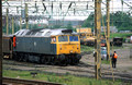 03852. 47478. Shunting the Up sidings. Bescot. 2.6.94
