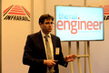 DG179416. Simon Rhoden. Head of Electrification, Amey. Infrarail. 20.5.14.