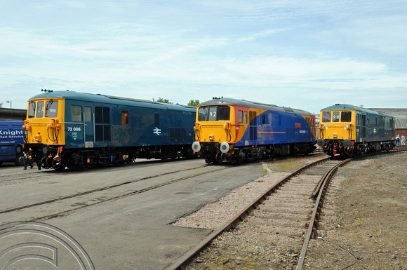 DG23196. 73006. 73109. 73119. Eastleigh Open day. 23.5.09.