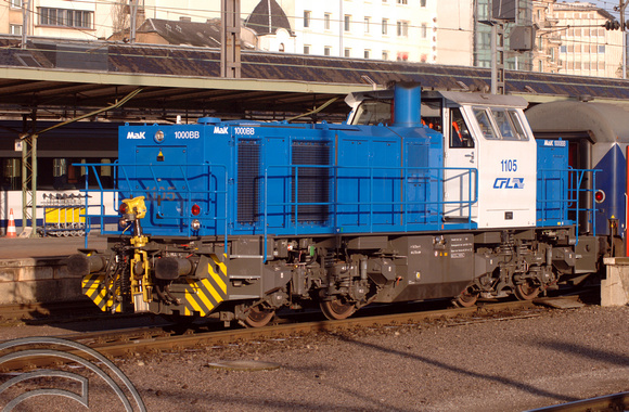 FDG2640. CFL 1105. Luxembourg. 22.11.05.
