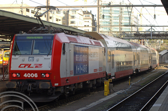 FDG2646. CFL 4006. Luxembourg. 22.11.05.