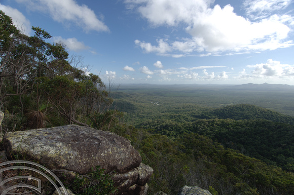 TD01845. Looking out over Byfield National Park. Queensland. Australia. 18.1.07.