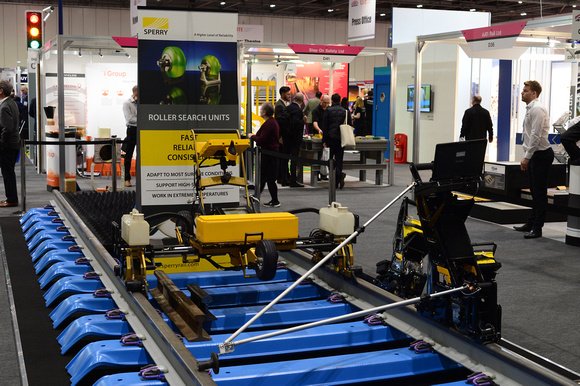 DG242575. Sperry stand. Infrarail 2016. 12.4.16
