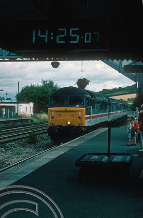 04038. 47828. Arriving with a Plymouth service. Totnes. 1.8.1994