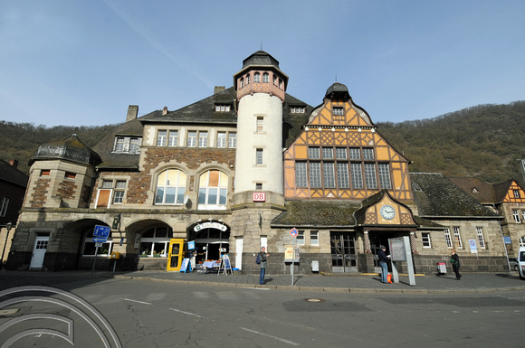 DG47891. Cochem station. Germany. 2.4.10.