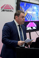 DG294790. Darren Caplan. Chief Exec of RIA. Infrarail 2018. London. 1.5.18