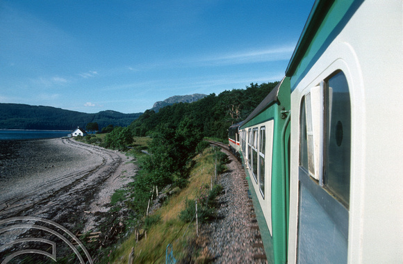 17998. 37419. En-route to Inverness from the Kyle of Lochalsh. 23.07.90