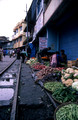 T6960. Selling veg at the trackside. Kurseong. West Bengal. India. 4.4.1998