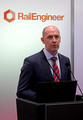 DG294807. Jon Shaw. Chief Engineer. Chief Exec of Network Rail. Infrarail 2018. London. 1.5.18