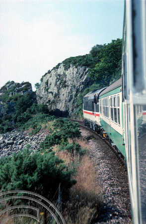 17994. 37419. En-route to Inverness from the Kyle of Lochalsh. 23.07.90