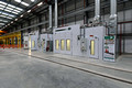 DG275555. Paint booths. Main shed. Alstom. Widnes. 29.6.16.