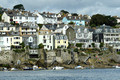 DG279580. The town seen from the ferry. Fowey. 19.8.17