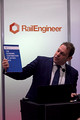 DG294760. Darren Caplan. Chief Exec of RIA. Infrarail 2018. London. 1.5.18