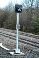 DG288534. New signalpost. Sowerby Bridge. 19.1.18.