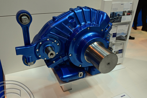 DG269676. Voith transmission. Railtex 2017. Birmingham. 09.5.17