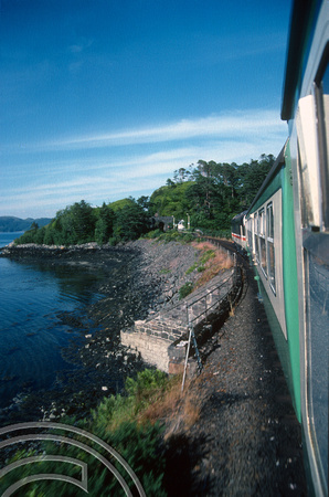 17997. 37419. En-route to Inverness from the Kyle of Lochalsh. 23.07.90